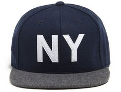 NY King Strapback Cap by THE HUNDREDS