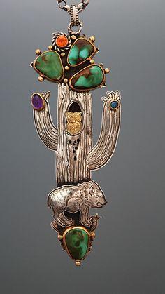 javelina-saguaro-necklace - Kit  Carson