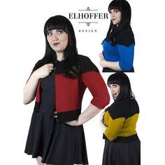 rogeriodemetrio.com: Star Trek Interstellar Explorer Cardigan Set