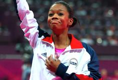 OLYMPIC GOLD MEDALIST GABBY DOUGLAS!!!!! SO AWESOME! GO USA!<3