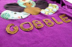 Thanksgiving Turkey T-Shirt / Sewing and Quilting | Fiskars