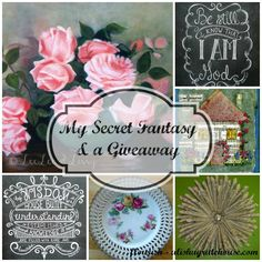 My Secret Fantasy & a Giveaway | Flourish - alishagratehouse.com