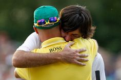 Love this Ben Crane and Bubba!  Friends....
