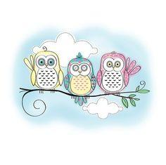 aww, birds, blue, cartoon, cute, doodle