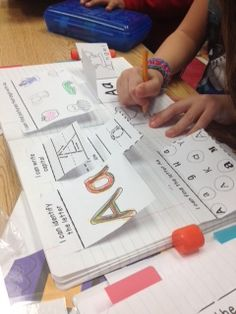 My kindergarteners are loving their interactive notebooks! Try 'Aa' for free!