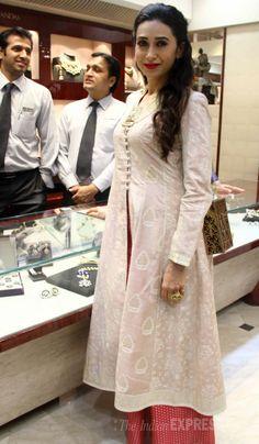 Karisma Kapoor unveiled new jewellery line by designer Sunita Shekhawat.