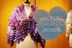 #pfw #couture #fashion #design #Paris #FashionWeek #HauteCouture #FW15/16 : #MaurizioGalante