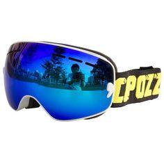 COPOZZ Brand Boys Girls Snowboard goggles Kids Ski Goggles Eyewear Double UV400 anti-fog skiing mask glasses 4-15 Years