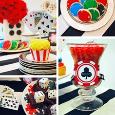 Such a great idea for game night.. poker chip cookies. Not sure how good they'll go with beer, but pretty cute.