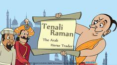 Tenali Raman and the Arab Horse Trader - Once, an Arab horse trader came to Krishan Deva Raya's court. More Tenali Raman stories for kids here. For more interesting #TenaliRaman #StoriesforKids, visit: http://mocomi.com/fun/stories/tenali-raman/