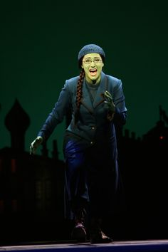 Eden Espinosa as Elphaba in Wicked, from EdenEspinosa.com