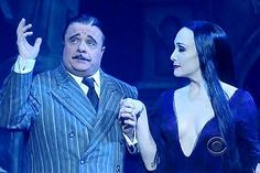 nathan lane david letterman | The Addams Family Vamps for David Letterman | Broadway Buzz | Broadway ...