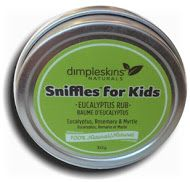 Dimpleskins Naturals Sniffles Eucalyptus Rub For Kids $12.99 - from Well.ca