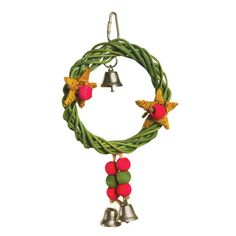 Christmas Wreath Vine Swing | Holiday Gift Ideas for Your Pet Bird from PetSolutions