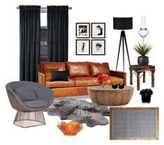 salon IV by a-filipczak on Polyvore featuring interior, interiors, interior design, dom, home decor, interior decorating, Arteriors, John Lewis, Dot & Bo and Cultural Intrigue