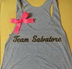 The Vampire Diaries Inspired Team Salvatore by RufflesWithLove, $24.00