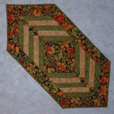 Thanksgiving Pieced Table Runner