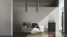 Wallpapers in the living room; A.S. Création Wallpaper 304952