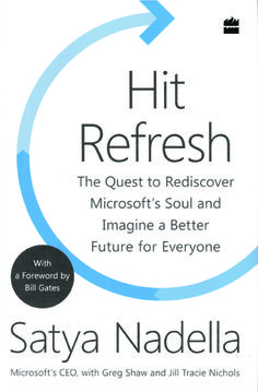 Hit 'Refresh' to transform your life, the Satya Nadella way (Book Review) , http://bostondesiconnection.com/hit-refresh-transform-life-satya-nadella-way-book-review/, #Hit'Refresh'totransformyourlife #theSatyaNadellaway(BookReview)