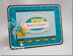 Birthday Happiness created for the June Waltzingmouse Stamps Blog Party!