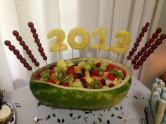 2013 Graduation party food.