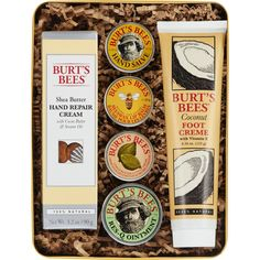 Burts Bees Classics Gift Set 6 Products in Giftable Tin ?€? Cuticle Cream Hand Salve Lip Balm ResQ Ointment Hand Repair Cream and Foot Cream >>> Check this awesome product by going to the link at the image.
