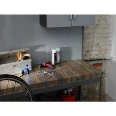 Faux wood laminant counter tops! FORMICA 5 in. x 7 in. Laminate Sample in Salvage Planked Elm Natural Grain-9480-NG - The Home Depot