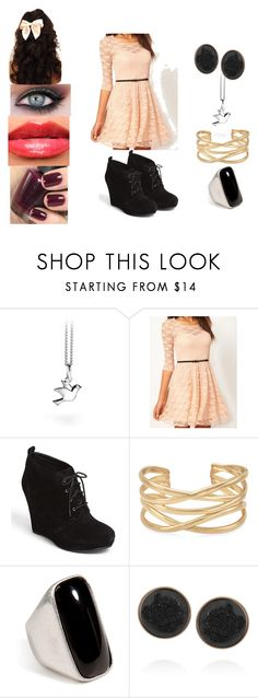 Untitled #23 by shadow-army on Polyvore featuring beauty, Dara Ettinger, Emilio Pucci, Stella & Dot, Jessica Simpson, Revlon and OPI