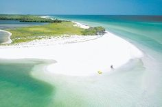 Best beach!  Caladesi Island right off of Clearwater Florida.  Like a deserted island!