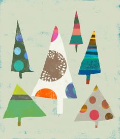 trees - love these!