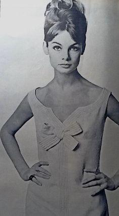 1963 Jean Shrimpton April 1963 photographed by Duffy.