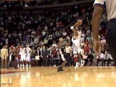 El lanzamiento de tres en el baloncesto
