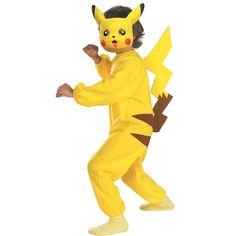 Pokemon Costumes For Boys, Pikachu Mascot Costume, Tween Costumes, Mom Costumes, Video Game Costumes, Anime Costumes, Costume Ideas, Halloween Costume Contest, Creative Halloween Costumes