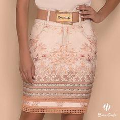 Que tal essa saia charmosa para hoje?