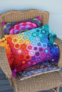 small neat worlds in crochet