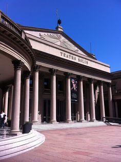 Teatro Solis cidade velha, Montevideo
