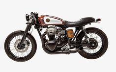 # 005 Miscela ribelle by officine sbrannetti Kawasaki Cafe Racer, Kawasaki Bikes, Cafe Racer Girl, Custom Cafe Racer, Custom Motorcycles, Custom Bikes, Vintage Bikes, Vintage Cars, Bobber
