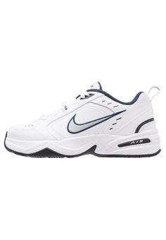 pick up adc0c 86ade AIR MONARCH IV - Sneakers - white metallic silver. KvindemodeVintage Nike LøbeskoNike ...