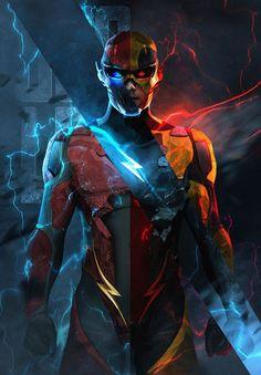 Vingadores Incredibles Flash Xmen Lote Lanterna Verde Ferro na transferência ou Adesivo
