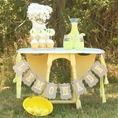 Lemonade Stand Photo Prop Package