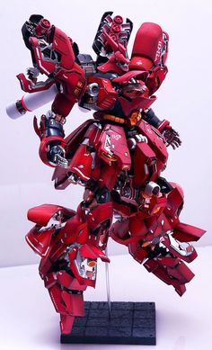 Custom Build: MG 1/100 MSN-04 Sazabi Ver. Ka Open Hatch Presentation - Gundam Kits Collection News and Reviews