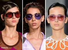 Spring/ Summer 2017 Eyewear Trends: Sunglasses with Colorful Lenses