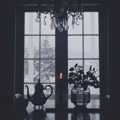 Tea Winter Time, Cottage, Windows, Curtains, Tea, Board, Home Decor, Crate, Winter