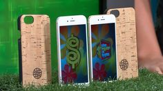 THESE 16 GIG IPHONE 6 EACH FEATURE A MERCURY-FREE LED-BACKLIT DISPLAY, AND A RECYCLABLE ALUMINUM ENCLOSURE. 2 ECO-FRIENDLY CORK CASES INCLUDED. PLUS, ENJOY A 1-YEAR FAMILY CALLING PLAN WITH 4 GIGS OF DATA AND UNLIMITED TALK AND TEXT PER MONTH. #PriceIsRight #EarthDay #Eco-Friendly #Cork #iPhone #Apple