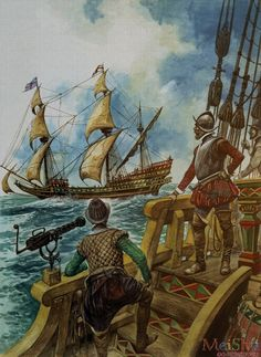 size: Giclee Print: Sir Francis Drake by Peter Jackson : Artists Naval History, British History, Military History, Conquistador, Drake, Renaissance, Spanish War, Spanish English, Famous Pirates
