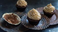 Chocolate and salted caramel have a natural affinity and these cupcakes happily bring them together. Pour leftover salted caramel sauce over ice-cream, add it to make milkshakes or enjoy straight from the jar. Recipe from Anneka Manning. Check out our Bakeproof column for tips and recipes.