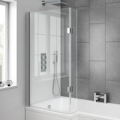 Small Bathroom Shower Tub Designs Interesting Family Style , If your bathroom contains a bathtub, there are lots of options to select from. The bathroom ought to be fresh with its tiles scraped on a standard bas. Bathroom Shower Panels, Small Bathroom With Shower, Small Showers, Bathroom Fixtures, Shower Tub, Master Bathroom, Bathroom Ideas, Shower Ideas, Bathroom Cabinets