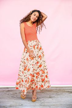 Matilda Jane Clothing | Women | March | New Arrivals | Fashion | Women's Fashion | Spring | Summer | Dress | Floral Bohemian Summer Dresses, Casual Summer Dresses, Summer Dresses For Women, Dress Outfits, Girl Outfits, Maxi Dresses, Summer Outfits For Moms, Classy Women, Types Of Fashion Styles