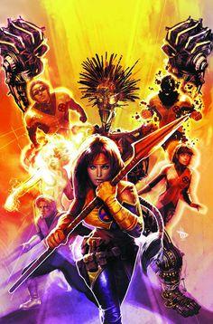 """redskullspage: """"X-Men by Dave Wilkins """" Marvel Comic Universe, Comics Universe, Marvel Comics, Comic Book Girl, Comic Book Heroes, Comic Books, Girls Characters, Marvel Characters, X Men"""