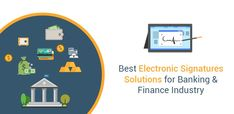 The global acceptance of electronic commerce implies the need to cut down on physical paper while at the same time quicken operations in the banking and finance industry. Electronic signature for banking enables core-banking transactions to process faster. Create Digital Signature, Core Banking, Term Sheet, E Signature, Document Sign, Banking Industry, Finance Bank, Financial Instrument, Asset Management